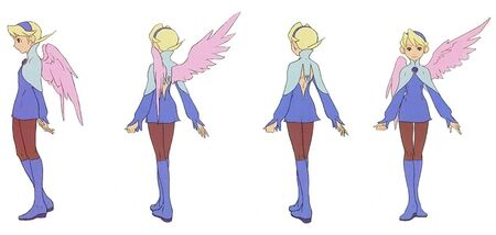 Nina Concept Art for Breath of Fire IV