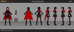 Ruby Rose T3 Costume Turnaround