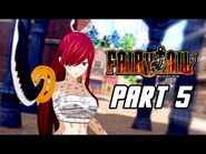 FAIRY TAIL - Full Game Gameplay Walkthrough Part 5 - Grand Magic Games Finals (PS4 PRO)