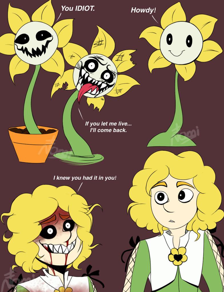 Flowey the Flower by nomidot.jpeg