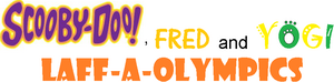 Scooby-Doo, Fred and Yogi Laff-A-Olympics logo.png
