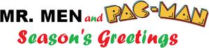 Mr. Men and Pac-Man Season's Greetings logo.png