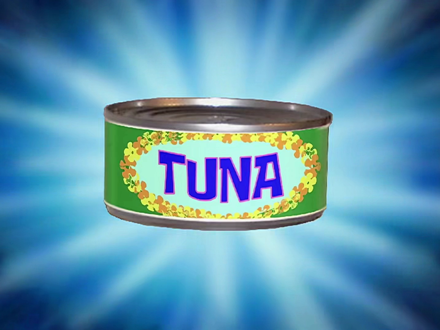 Tuna can with the smell of mayo