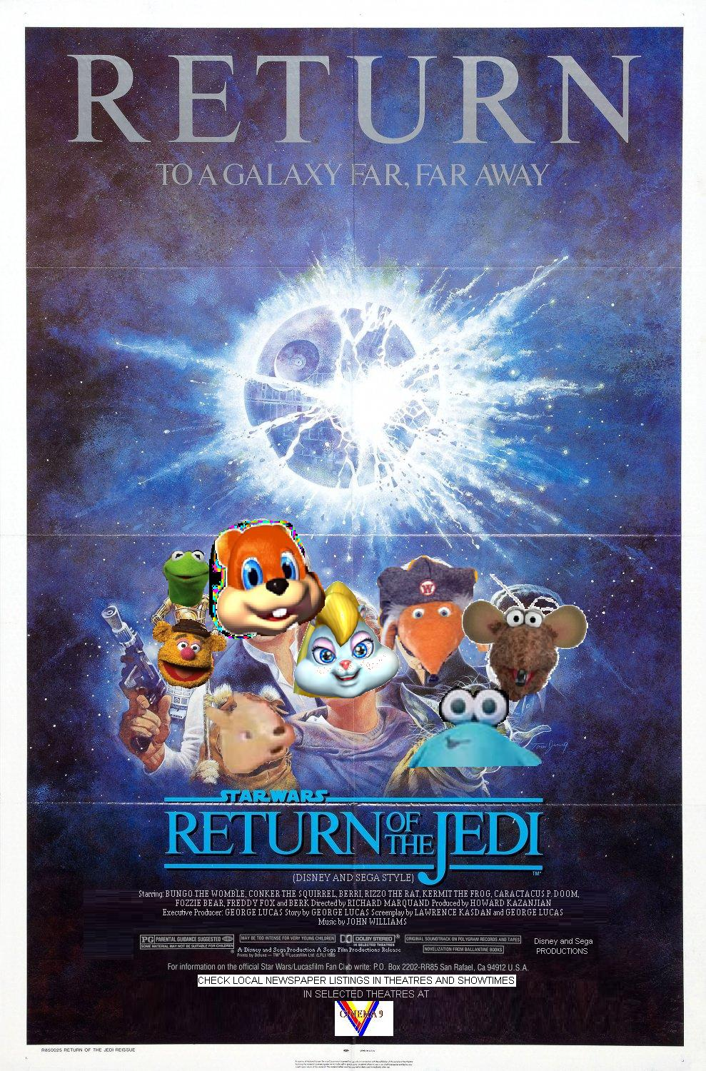 Star Wars Episode 6: Return of the Jedi (Disney and Sega Style)