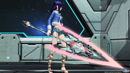 Vita Gungnir NT 2 for Phantasy Star Online 2