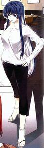 Shizuku Sangou Casual Outfits (Chapter 5 and 6) Front View