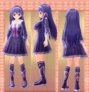Koharu Tsukikage 3D Concept Art