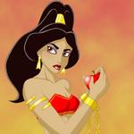 Jafar s unwilling slave by frankiealton-d4d959b
