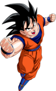 Render Dragon Ball Goku