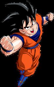 Render Dragon Ball Goku