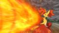 Serena Dream Delphox Flamethrower