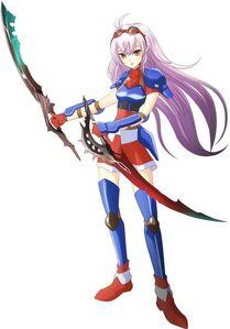 Arnice Wearing Sporty Armor