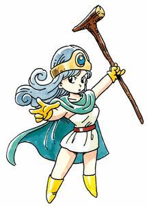 Female Sage (FC Dragon Quest III)