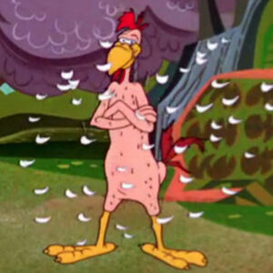 Foghorn Leghorn naked after rain dance.jpg