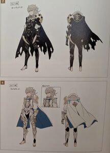 Male Corrin (Fire Emblem Fates) Concept Art