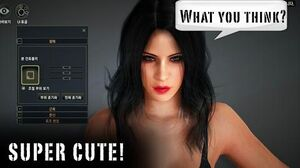 Hottest FEMALE character creation in MMORPG Top 5 2017