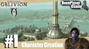 The Elder Scrolls IV Oblivion 1 - Character Creation