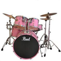 Allison's Pink Drum Kit (September 30, 2015)