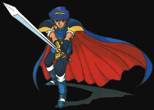 Marth (Fire Emblem Mystery of the Emblem)