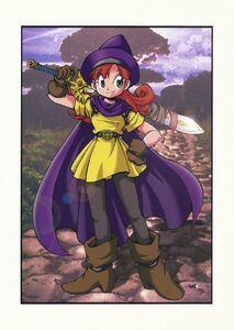 Princess Alena Using his Erdrick's Sword