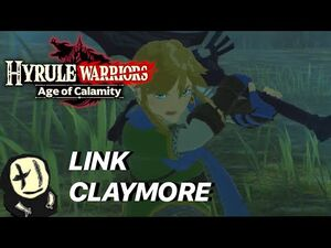 Two-Handed Weapons (Link) - Hyrule Warriors- Age of Calamity Showcase