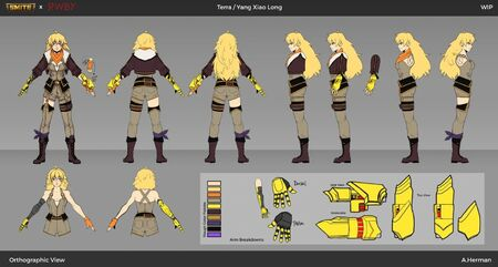 Alyssa-Herman-Yang-Terra-Orthographic-Final for RWBY