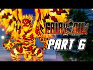 FAIRY TAIL - Full Game Gameplay Walkthrough Part 6 - Fighting Dragons (PS4 PRO)