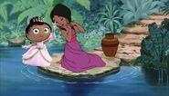 Shanti princess pea disney crossover