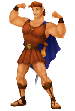 Hercules as he appears in the Kingdom Hearts series.