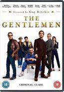 The Gentlemen 2020 UK DVD cover