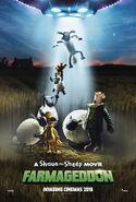 A Shaun the Sheep Movie Farmageddon 2019 poster 1