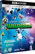 A Shaun the Sheep Movie Farmageddon 2019 UK 4K Ultra HD cover
