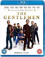 The Gentlemen 2020 UK Blu Ray cover
