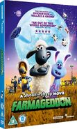 A Shaun the Sheep Movie Farmageddon 2019 UK DVD cover