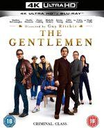 The Gentlemen 2020 UK 4K Ultra HD cover