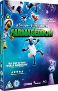 A Shaun the Sheep Movie Farmageddon 2019 UK Blu Ray cover