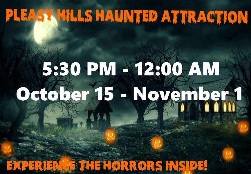 Pleasy Hills Haunted Attraction