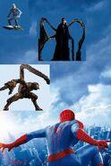 The amazing spider man 2 hi res textless poster by phetvanburton-d6zj06r