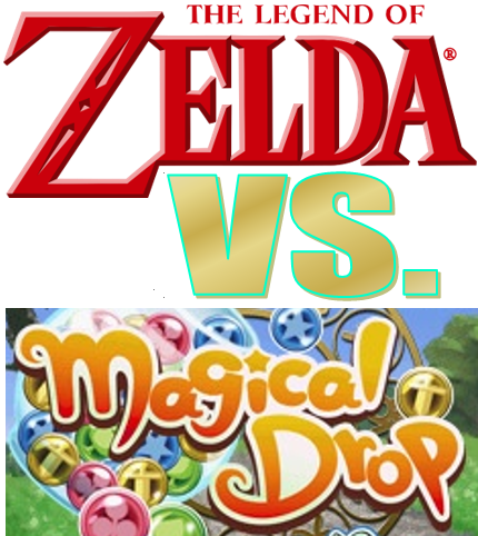 The Legend of Zelda vs. Magical Drop