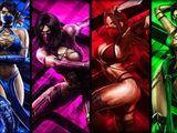 Mortal Kombat Ninja Girls