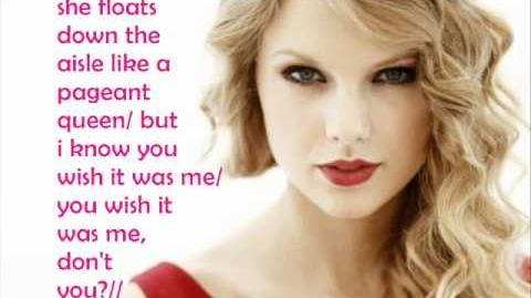 Speak now Taylor Swift lyrics