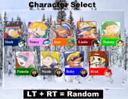 SBKIV Character Select 01 Xbox One Version