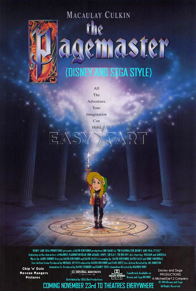 The Pagemaster (Disney and Sega Style)