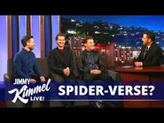 Tom Holland, Andrew Garfield & Tobey Maguire Confirms SPIDER-VERSE? - SPIDER-MAN- NO WAY HOME (2021)-2