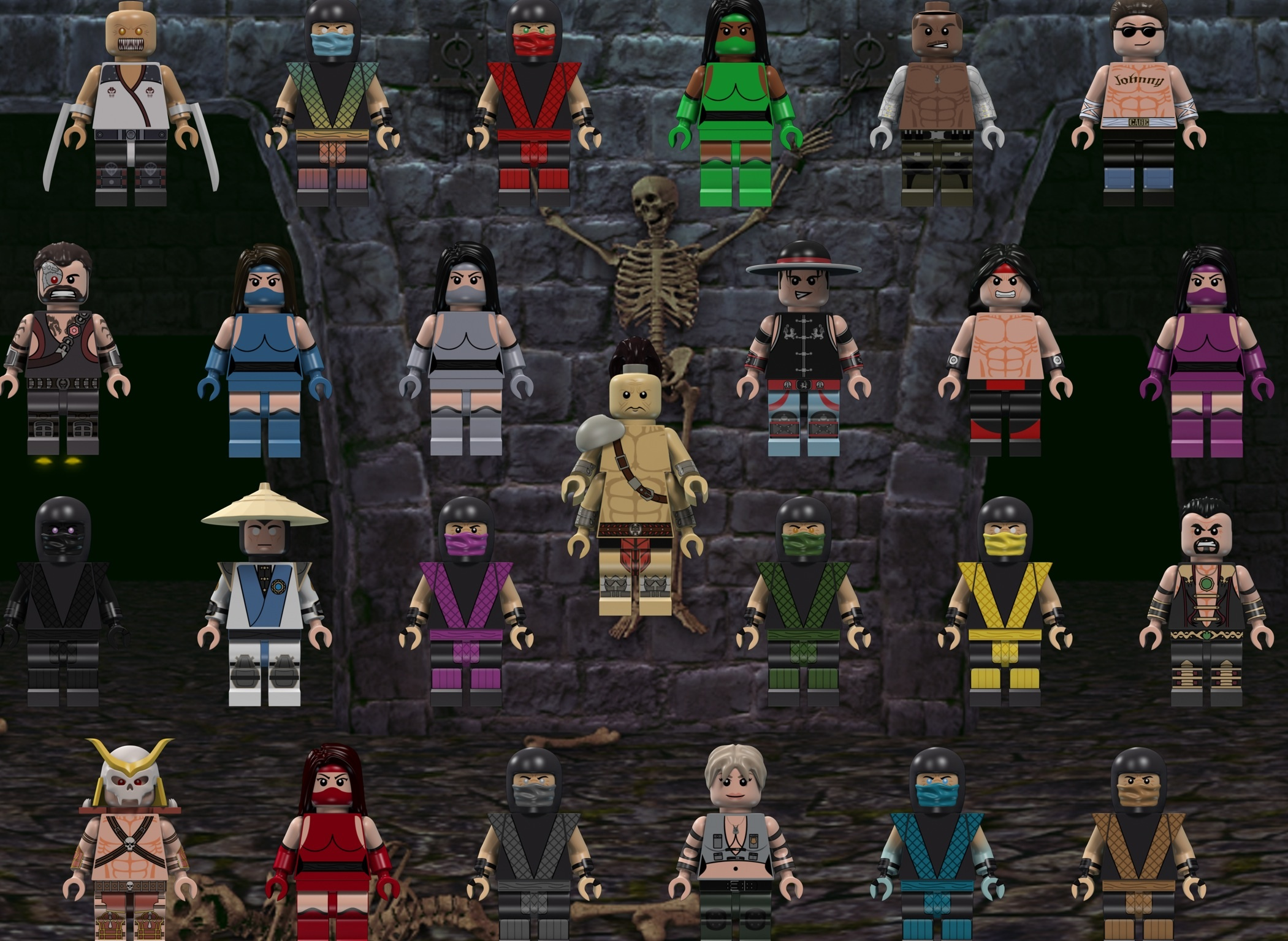 LEGO Mortal Kombat:The Video Game