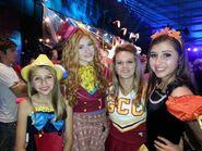 2013 HUB Halloween Bash with Lauren Suthers, Victoria Strauss and Katherine McNamara