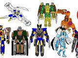 X-Maximals (Beast Wars: Transformers: E.N.D.A.N.G.E.R.E.D. Characters)