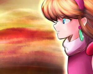 Princess Zelda 2 from Mirage Castle's Battle