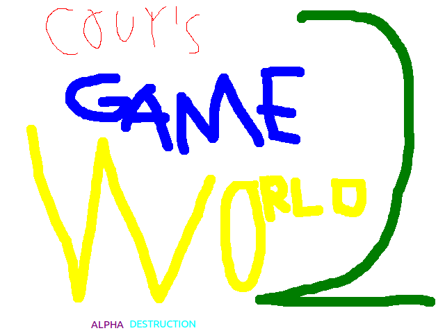 Couy's Game World 2: Alpha Destruction