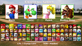 MXS Character Select (for Minigames and Toy Field)